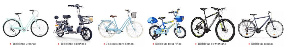Tipos de bicicletas para importar de China